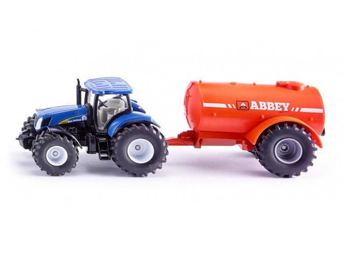 Siku New Holland Traktor s cisternou 1:50