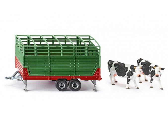 Siku Přepravník dobytka 1:32