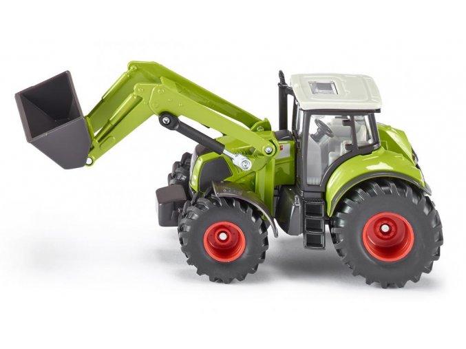 Siku traktor Claas s čelním nakladačem 1:50