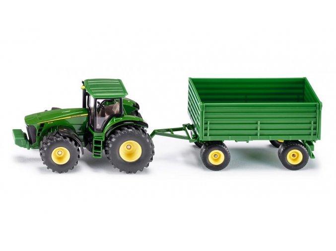 Siku 1953 Farmer traktor John Deere s vlekem 1:50