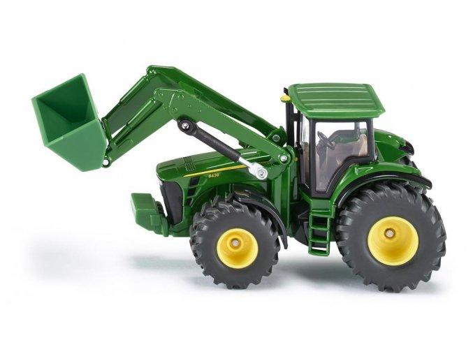 Traktor John Deere s předním nakladačem 1:50