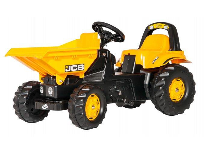 ROLLY TOYS šlapací traktor JCB DAMPR