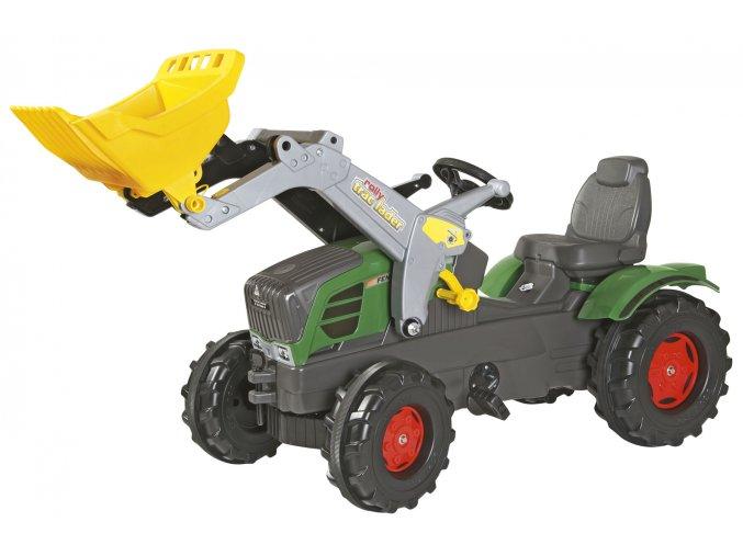 ROLLY TOYS šlapací traktor FENDT 211 VARIO s nakladačem