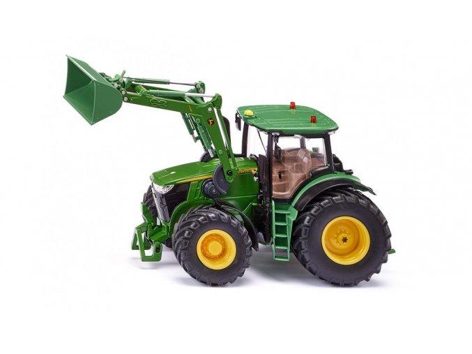 SIKU Control APP traktor John Deere 7310R s nakladačem a Bluetooth
