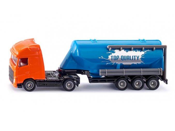 Siku nákladní auto se silo návěsem 1:87