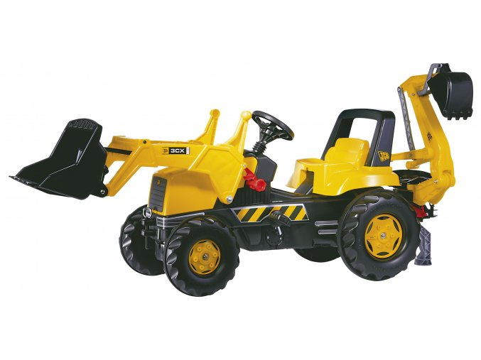 Rolly Toys JCB Junior nakladač + bagr