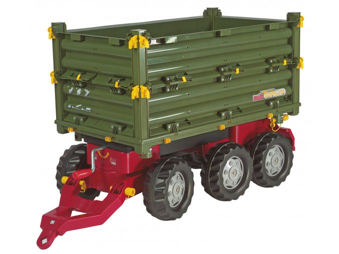 Rolly Toys Přívěs Multi Trailer 3 osý