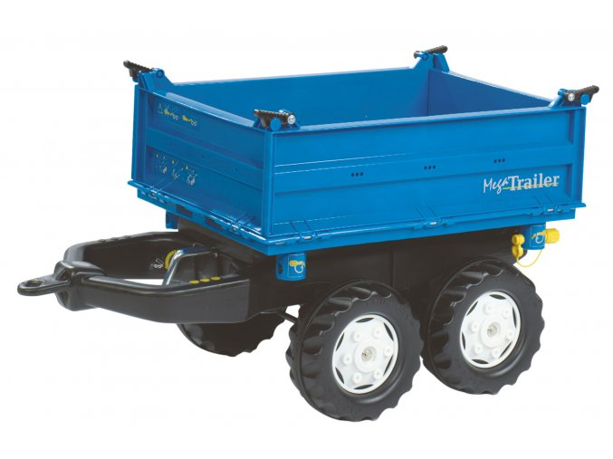 Rolly Toys vlek Mega Trailer NEW HOLLAND