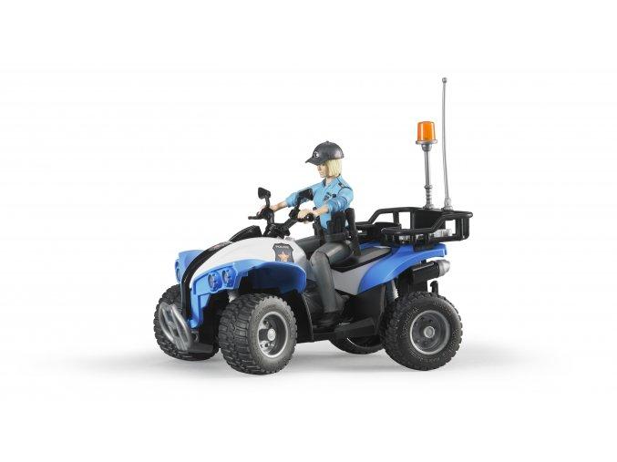 BRUDER 63010 POLICEJNÍ QUAD