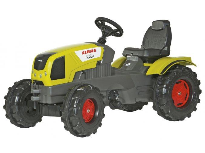 Rolly Toys šlapací traktor Claas Axos 340