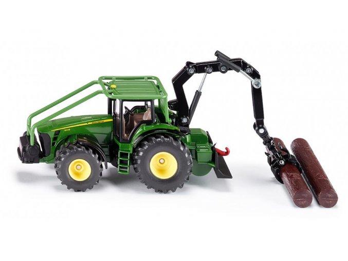 Siku John Deere lesnický traktor 1:50