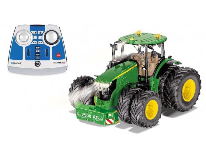 Siku Traktor s vyžínacím ramenem Kuhn 1:32