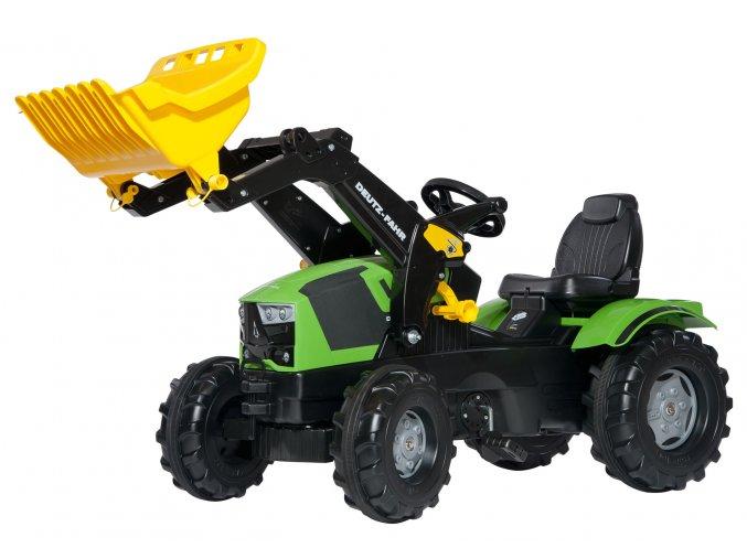 Rolly Toys šlapací traktor Deutz-Fahr 5120 s čelním nakladačem