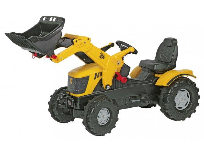 Rolly Toys šlapací traktor JCB 8250 s čelním nakladačem