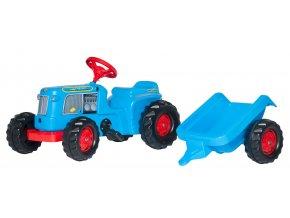 Rolly Toys šlapací traktor Classic s přívěsem
