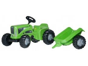 Rolly Toys šlapací traktor Futura s přívěsem