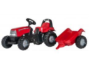 Rolly Toys šlapací traktor Case s přívěsem