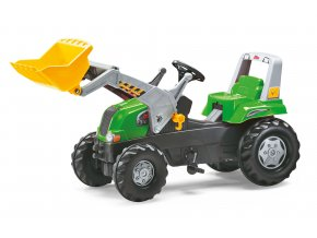 Rolly Toys Junior šlapací traktor s čelním nakladačem