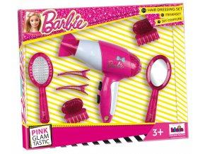 Klein Barbie Kadeřnický set s fénem