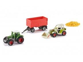 Siku sada 5 ks v balení zemědělství 1:87