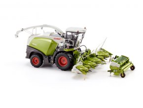 Wiking Claas Jaguar 860 řezačka s Orbis 750 a Pick up 300