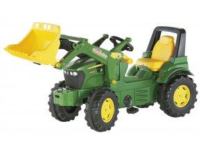 ROLLY TOYS šlapací traktor farmtrac JOHN DEERE 7930 s nakladačem