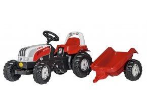 Rolly Toys šlapací traktor rollyKid Steyr s přívěsem