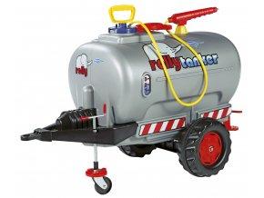 Rolly Toys Cisterna Rolly Tanker stříbrná
