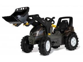 Rolly Toys šlapací traktor Claas Arion s nakladačem