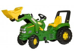 Rolly Toys šlapací traktor John Deere X Trac s nakladačem