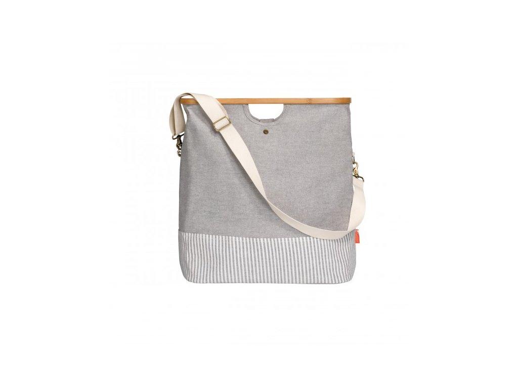 Prym Cestovní taška Canvas & Bamboo 612561 M šedá