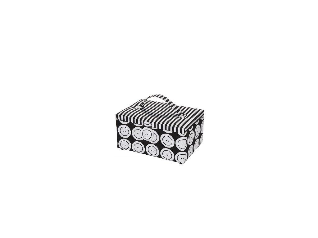 Prym Kazeta na šití Button & Stripes M 612017