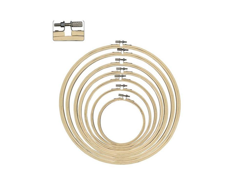 Bambusový vyšívací kruh, 30cm