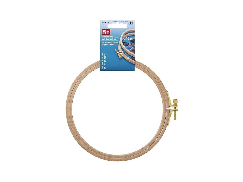Prym Vyšívací kroužek 611676, 16cm