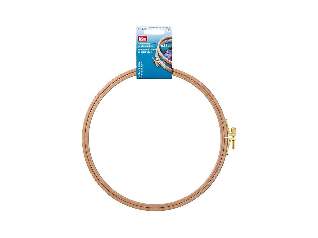 Prym Vyšívací kroužek 611678, 22cm