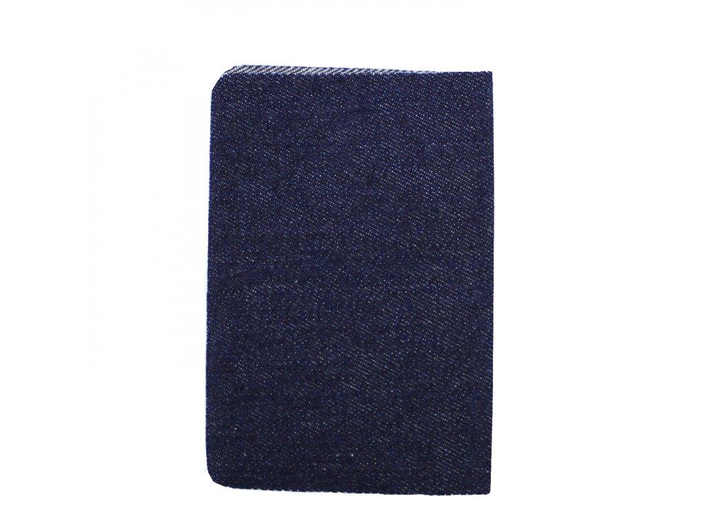 Nažehlovací záplata jeans 12,5x17cm, 1170/2