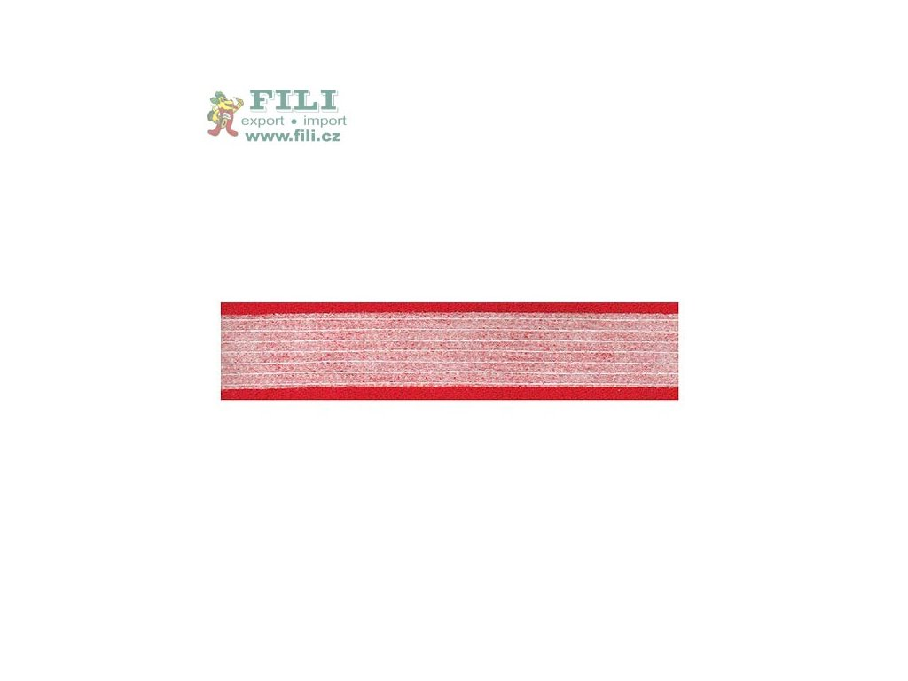 Fixační pásek US500 š.1cm b.šedá