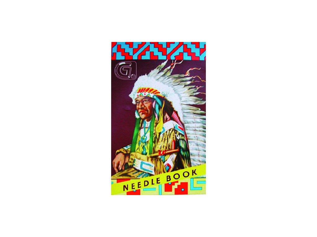 Jehly INDIAN - 24 jehel + navlékač jehel