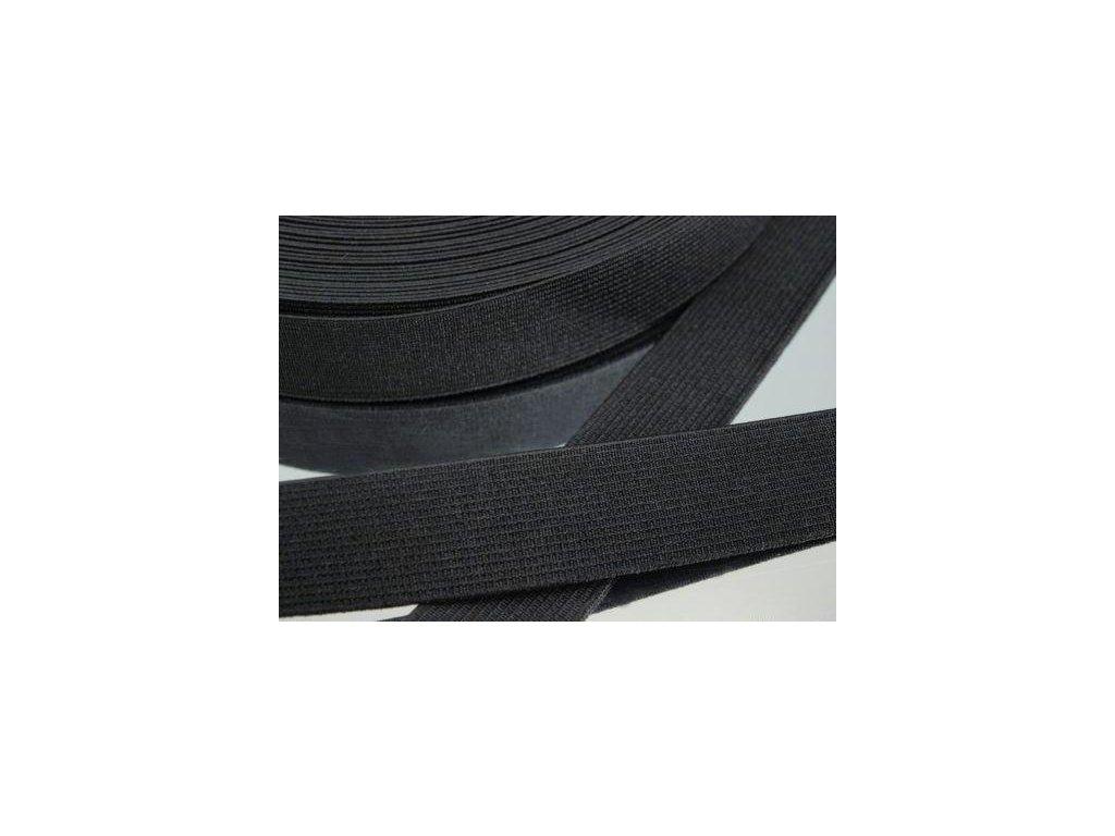 Pruženka oděvní šíře 25mm černá 367025