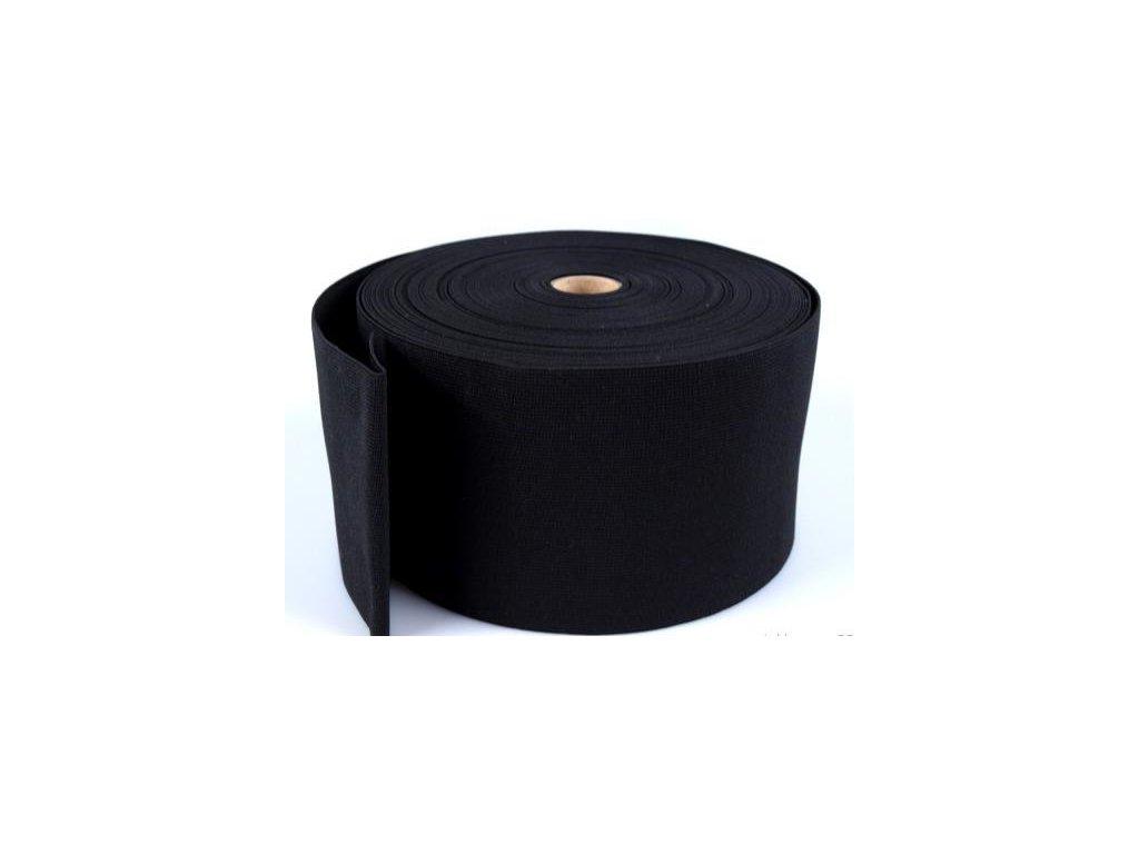 Pruženka oděvní 367080 š.8cm černá