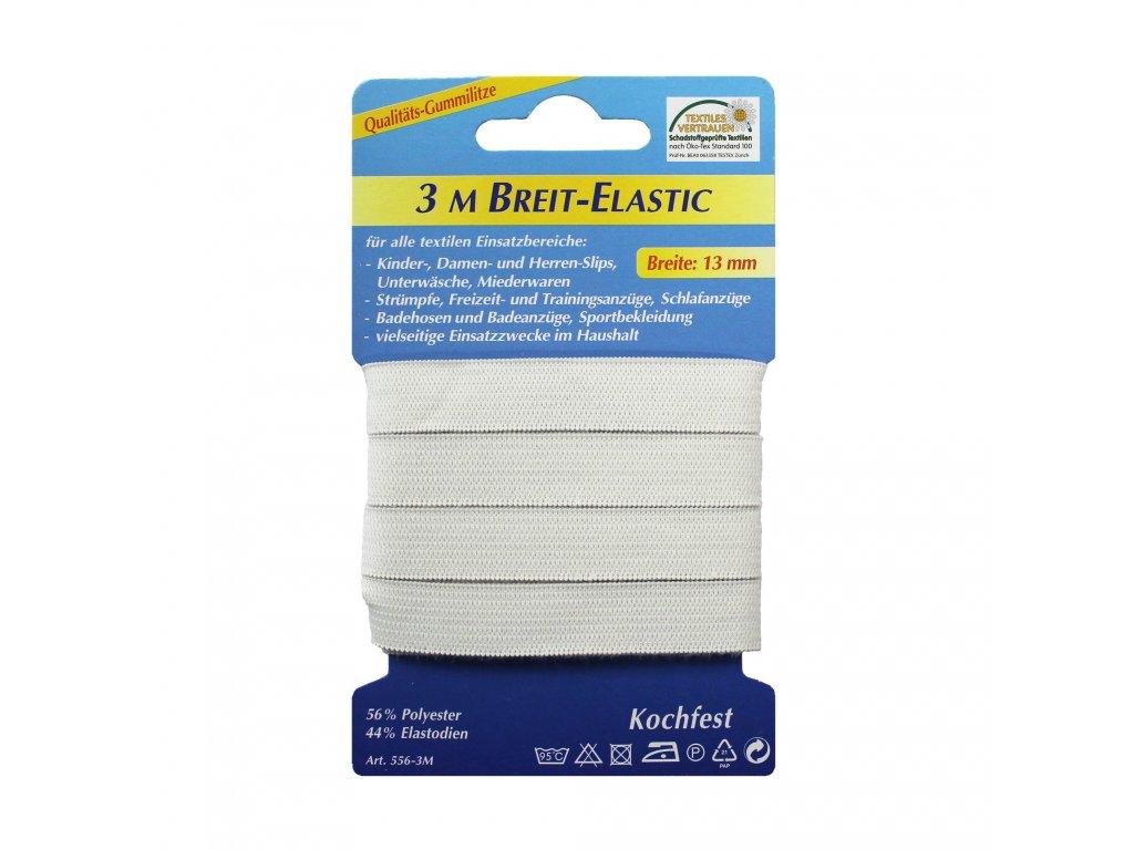 Pruženka prádlová šíře 13mm režná 3m/kt art. 556-3