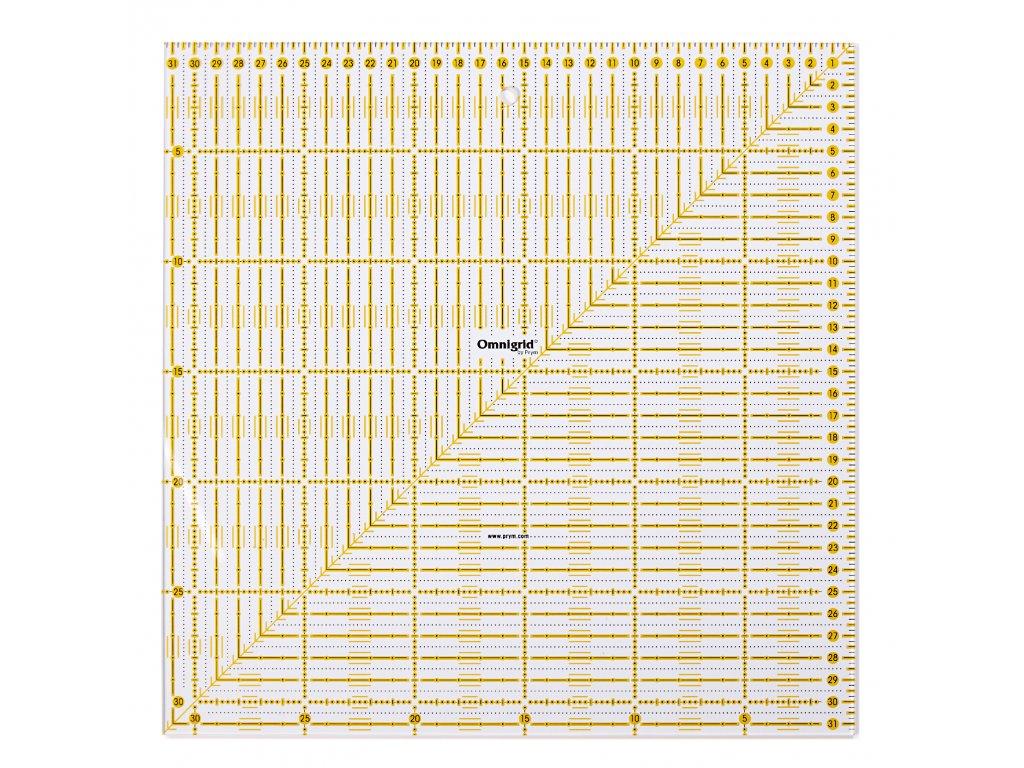 Prym 611319 Univerzální pravítko 31,5 cm x 31,5cm