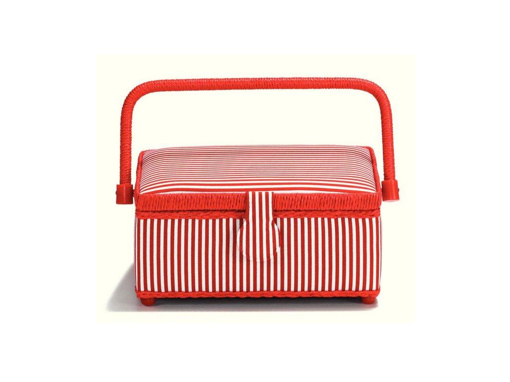 Prym Kazeta na šití Red Stripes S 612270