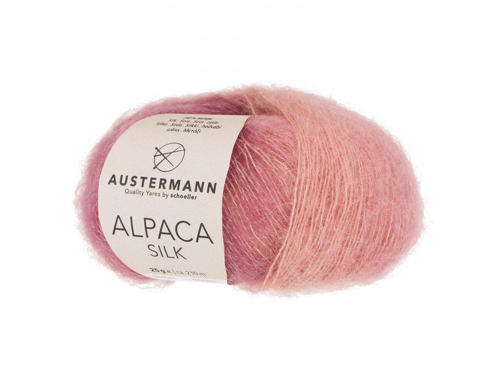 Alpaca Silk [70% alpaka, 30% hedvábí] Ručně pletací příze