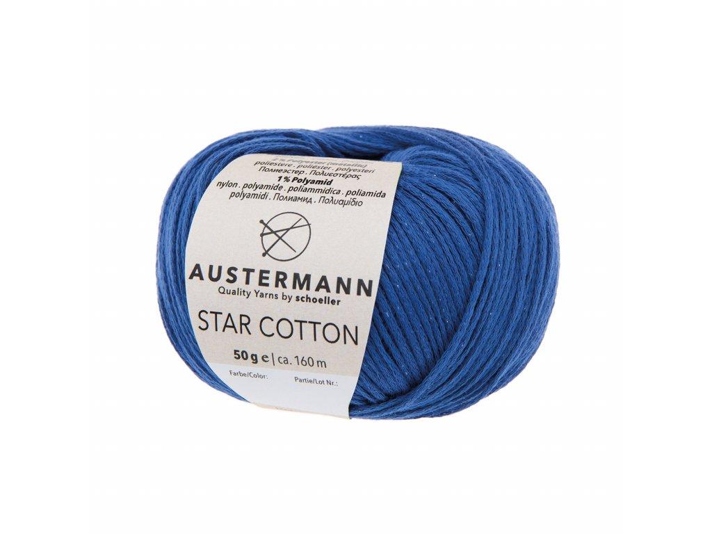 Star Cotton [97% bavlna, 2% polyester, 1% polyamid] Ručně pletací příze