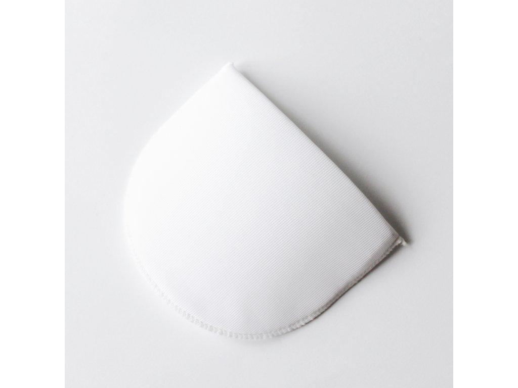 Vycpávka potažená síla 10mm bílá 10011