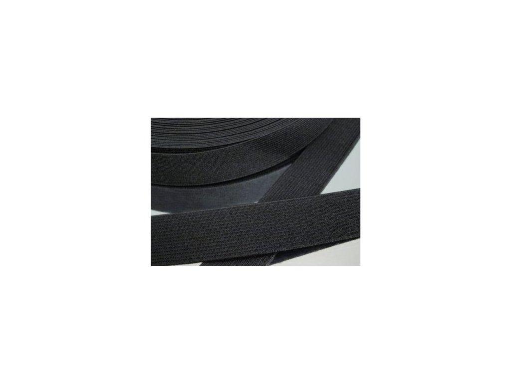 Pruženka oděvní šíře 15mm černá 905015