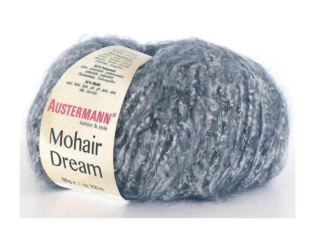 Mohair Dream [30% mohér, 30% bavlna, 25% polyamid, 15% vlna merino]