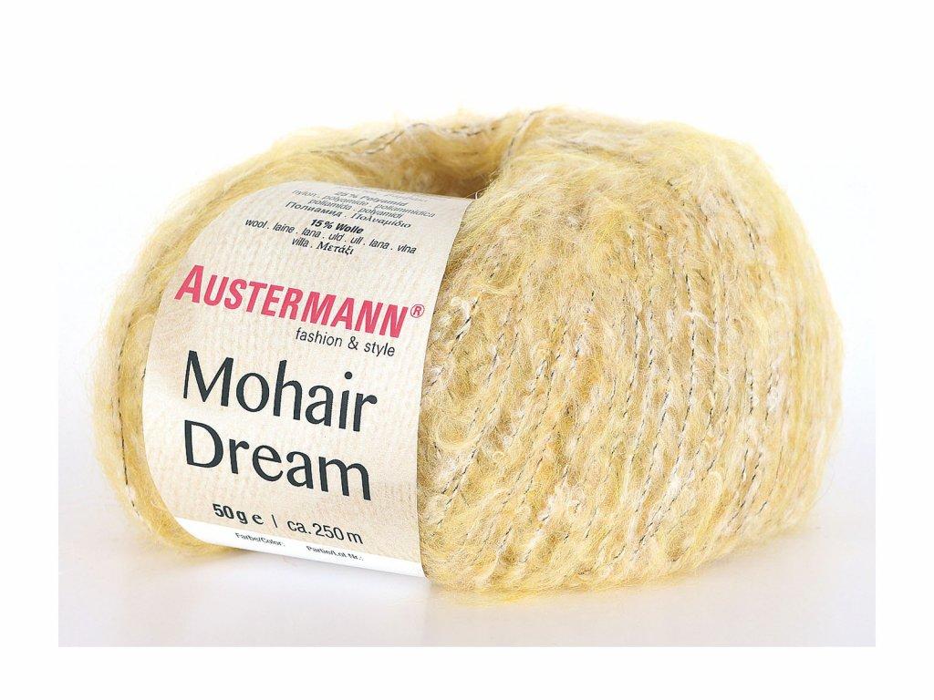 Mohair Dream [30% mohér, 30% bavlna, 25% polyamid, 15% vlna merino] Ručně pletací příze