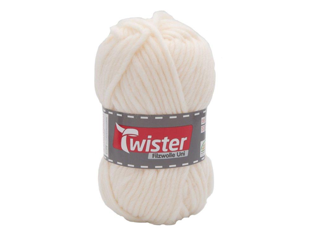 Twister Filzwolle Uni